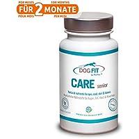 DOG FIT by PreThis Care Senior | Nutrientes Naturales para Perros Viejos | Articulaciones, Ojos, Pelaje, Piel y Dientes | ¡Certificado ISO!