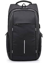 ModishOmbre Anti-Theft Laptop Travel Backpack With TSA Lock, USB Plug Charging Port, AUX Plug For Music Listening...