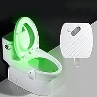 SGerste 24 Colores Sensor de Movimiento LED luz de Noche Inodoro luz Cuenco Lámpara de Baño