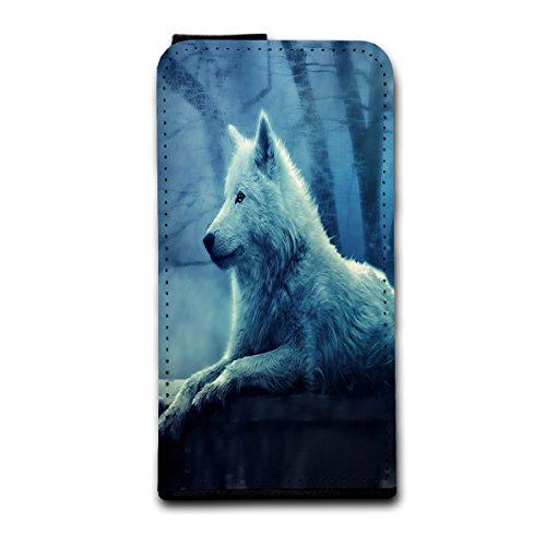 Verticale à rabat style étui de protection à rabat motifs photo pour apple iPhone 5/5S libre avec motifs design au choix-sélection v3, Design 8 (Rouge) - SB-Vertikal V3 Design 3