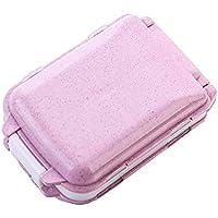 WANGXN Mini Pill Box Folding Wöchentlich Compact Pill Case Reminder 8 Fächer Pill Organizer Box preisvergleich bei billige-tabletten.eu