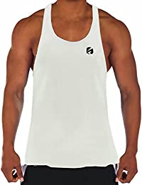 Amazon.it  canottiera uomo palestra - Canotte   T-shirt 06b023539633
