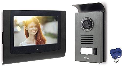 "EXTEL CONTACT, Videosprechanlage 2 Draht Technik - 7\"" Monitor"