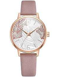 abf3ff5316cf Reloj Mujer-Relojes con Correa De Esfera Escala Exagerada Digital Reloj  NiñO Reloj Femenino De