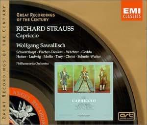 Strauss - Capriccio / Schwarzkopf, Gedda, Hotter, Waechter, Fischer-Dieskau, PO, Sawallisch