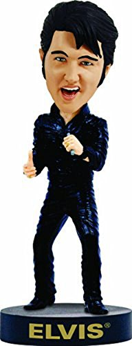 Elvis Bobblehead negro piel '68Comeback Special