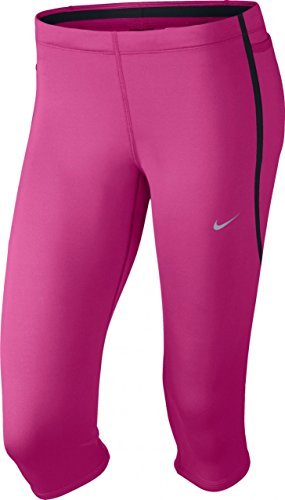 Nike Tech Capri Women's HOT PINK/BLACK/REFLECTIVE