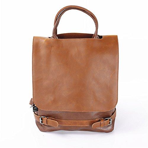 La sig.ra elegante zaino canvas spalle minimalista pacchetto di massa per il tempo libero degli studenti' schoolbags Pacchetto di viaggio C C