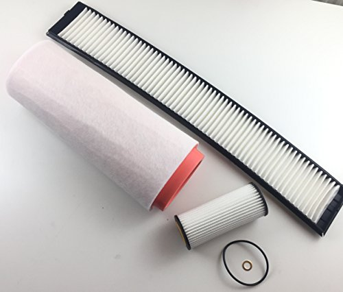 Ölfilter Luftfilter Innenraumfilter X3 E83 2.0 D 110 KW 150 PS Filter Set