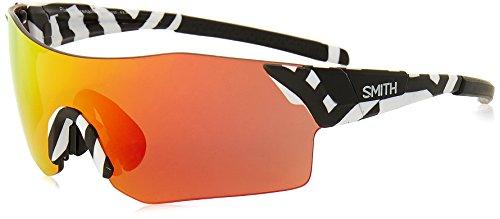 Smith Unisex-Erwachsene PIVLOCK ARENA/N X6 S37 99 Sonnenbrille, Whtebk Pattern/Pk Pink,