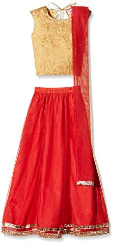 Atayant Girl Lehenga Choli (ATAYK_020_4:5YR_Red_L)