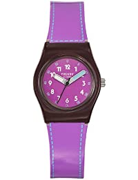Trendy Kiddy - KL 247 - Montre Fille - Quartz Analogique - Cadran Violet - Bracelet Plastique Violet