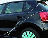 FOLIATEC 34397 Rouleaux de Bande Autocollante Turquoise pour Bord de Jante (X4)