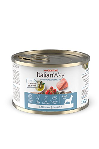 Giuntini Italian Way Bocconcini per Cani - ricetta Ipoallergenica al Salmone - Adult - 150 gr
