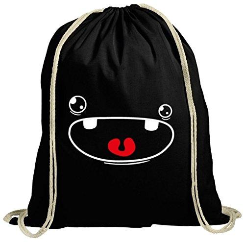 utel Cute Monster, Größe: onesize,schwarz natur (Natur Kostüm)