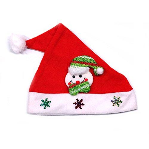 hmuck Kinder Cap Nach Hut Geschenk Geschenk Kopfbedeckung Santa Hut, Erwachsene Schneemann ()