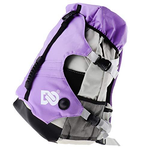 CUTICATE Unisex Skateschuhe Rucksack Atmungsaktiv Sporttasche Rollschuhe Schuhtasche - Lila