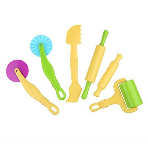 Kit di attrezzi per impasti intelligenti kare & kind® con modelli e stampi - confezione per la vendita al dettaglio kare & kind® (utensili in argilla e pasta)