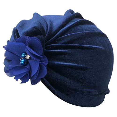 Censhaorme Hand Nähen Perlen-Blumen Velvet Indian Hut-Baby-Mädchen Junge Fotografie Cap Herbst-Winter-warme Mütze - Für Hut Indian Mädchen