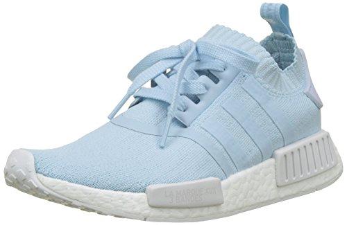adidas Damen NMD_R1 Primeknit Sneaker Blau Ice Blue/Footwear White, 37 1/3 EU