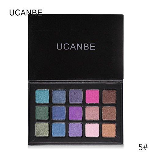 gseastbuy 1PC 15Farbe Lidschatten matt Lidschatten Palette Eyeshadow Nude Eyeshadow Powder...
