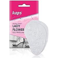 Kaps Lady Blumen–Qualität Unsichtbar Ball von Fuß Gel Kissen, Vorderfuß Druckentlastung, rutschfest und selbstklebend... preisvergleich bei billige-tabletten.eu