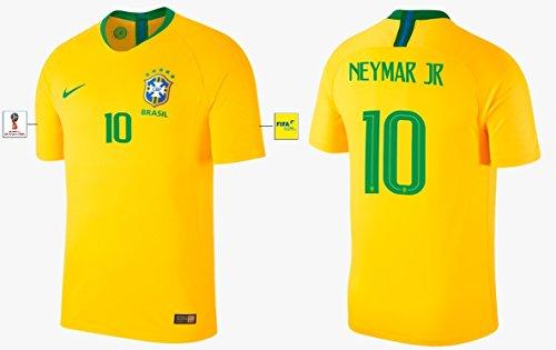 Trikot Herren Brasilien WM 2018 Home - Neymar Jr 10 (S)