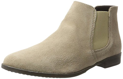 Tamaris Damen 25038 Chelsea Boots, Braun (Taupe), 37 EU -