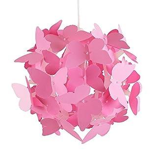 MiniSun – Paralume bello e moderno per lampada a sospensione con motivo di farfalle
