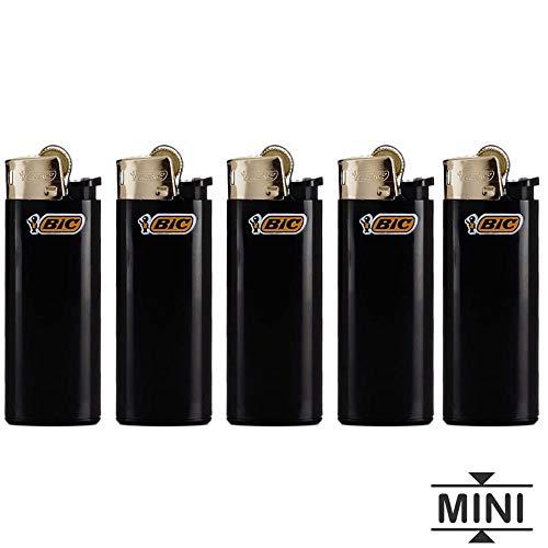 BIC 5 Mini Encendedores Piedra del oro