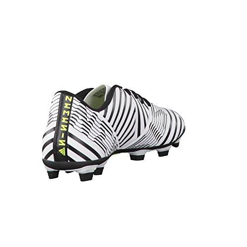 adidas Herren Nemeziz 17.4 Fxg Fußballschuhe Weiß (Footwear White/solar Yellow/core Black)