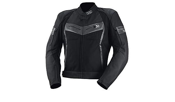 Amazon.fr   Veste de moto IXS Rock Ford Noir Titane Argent 5a8793213065
