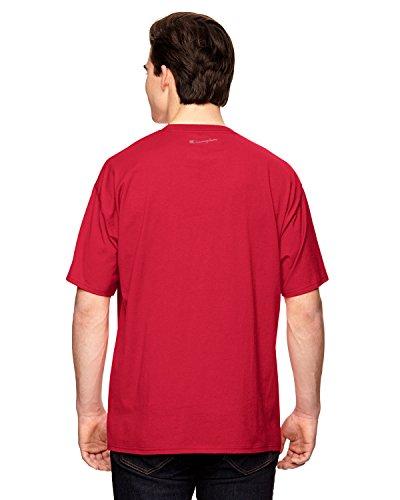 Champion für Team 365Vapor® Baumwolle Kurzarm T-Shirt Rot - Sport Red