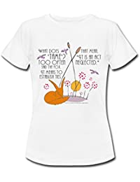 Spreadshirt The Little Prince Friendship Taming The Fox Women's T-Shirt