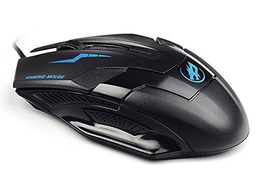 Kosee Aero-Bot Pro Gaming-Maus mit Kabel, Ausgestattet mit 2000 DPI, 4000FPS und 15G Beschleunigung, USB-gesteuert -