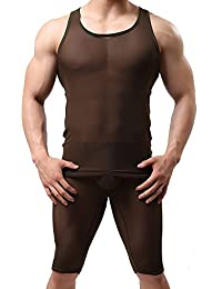 Louis Rouse–Camiseta transpirable para parte superior y calzoncillos Suit