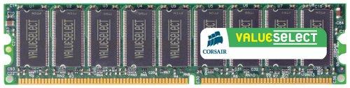 Corsair 1GB (2x512MB) DDR 400 MHz (PC 3200) Desktop Arbeitsspeicher (VS1GBKIT400) - 512 Mb Ddr Desktop