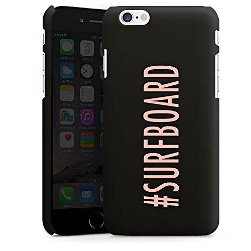 Apple iPhone X Silikon Hülle Case Schutzhülle Surfboard Flawless Statement Premium Case matt