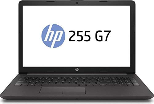 "HP Notebook 255 G7 15.6"" AMD A6-9225 Dual Core, 8GB RAM, 256 M.2 GB SSD, AMD Radeon R4, Windows 10 Pro, Schwarz"