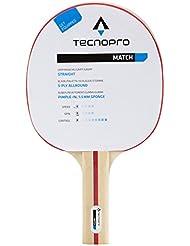 Tecno Pro match M3 de tenis de mesa (colour: negro/rojo 900)