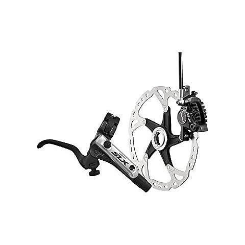 Shimano SLX Bled i-spec-b compatible Frein/post Support pied à coulisse noir Noir Avant