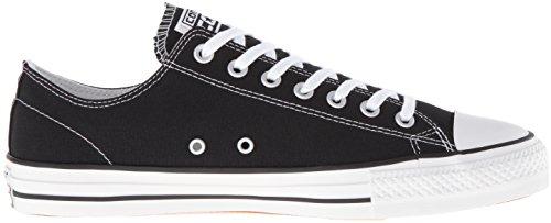 Converse Canvas, Scarpe da Ginnastica Unisex – Adulto Black/White
