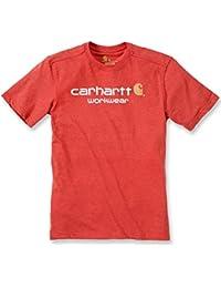 Carhartt 101214 T-shirt de travail à manches courtes avec logo