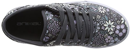 Animal Marcy, Sneakers Basses Femme Multicolore (All Over Print)