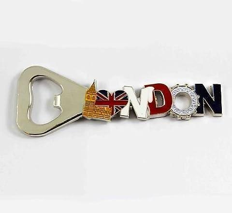 London Novelty BigBen Tower Fridge Freezer Magnet Bottle Opener Keyring