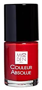 MISS DEN Vernis à Ongles Absolue Rouge Fatal 10 ml