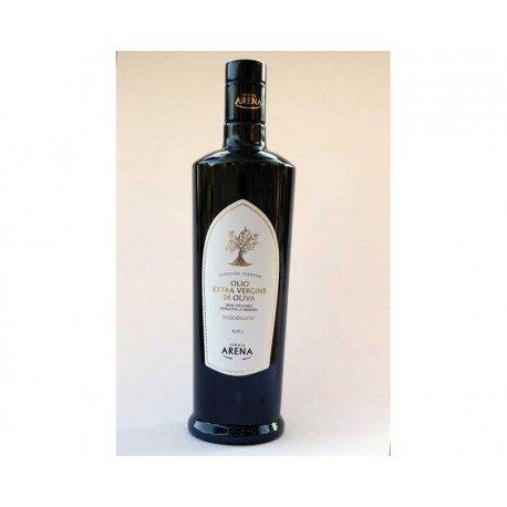 Olio extravergine di oliva siciliano biologico, premium, tenuta arena, 0,75 ml