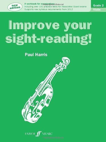 Improve your sight-reading! Violin Grade 2 (New Edition) by Harris, Paul NEW Edition (2011)