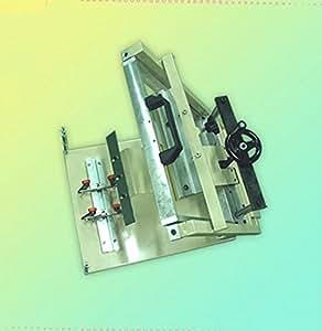 Gowe manuel machine d'impression écran pour rond Big cylindrique produits