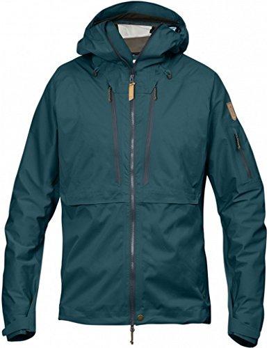Fjällräven Herren Keb Eco-Shell Jacket Softshelljacke Glacier Green (646)